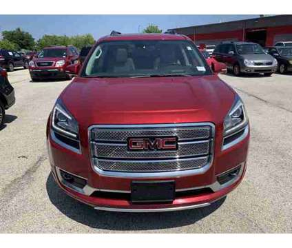 2014 GMC Acadia Denali is a Red 2014 GMC Acadia Denali Car for Sale in Waukesha WI
