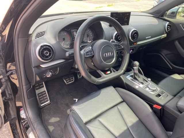 2015 Audi S3 2.0T Prestige 25861 miles