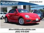 2018 RED Volkswagen Beetle Convertible
