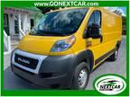 2019 Broom Yellow Clearcoat Ram ProMaster Cargo Van