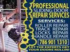 Are Your Sliding Doors Stuck? Sliding Glass Door Repair Services