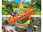 2 x Chessington Tickets for Wednesday 12th August 12.08.2020