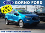 2018 Ford EcoSport Blue, 2865 miles