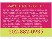 Tax Service, Notary Public, Translation, Immigration and Others