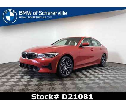 2021 BMW 3 Series 330i xDrive is a Red 2021 BMW 3-Series Car for Sale in Schererville IN