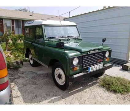 1983 Land Rover Defender for sale is a Green 1983 Land Rover Defender 110 Trim Car for Sale in Wheat Ridge CO