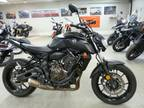 2019 Yamaha MT-07 Matte Light Gray Motorcycle for Sale