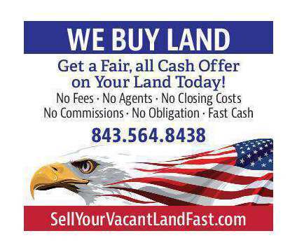Sell Your Land Fast in Charleston SC is a Land