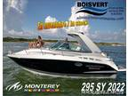 2021 Monterey 295 SY (Artic Ice/Onyx) Boat for Sale