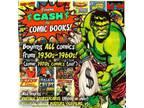 Cash Paid for Vintage Comic Books