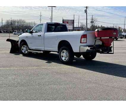 2020 Ram 2500 Tradesman Long Box is a White 2020 RAM 2500 Model Tradesman Car for Sale in Walled Lake MI
