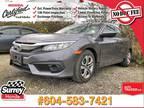 2017 Honda Civic Sedan LX - Honda Certified 7 YR/160K Warranty