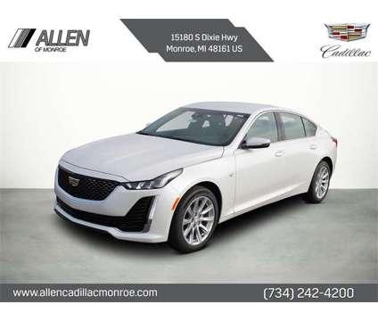 2021 Cadillac CT5 Luxury is a White 2021 Luxury Sedan in Monroe MI