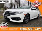 2018 Honda Civic SE Sedan LOW KMS, 1-OWNER, NO ACCIDENTS
