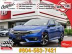 2016 Honda Civic Touring NAV - Honda Certified 7 YR/160K Warranty