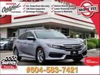 2016 Honda Civic LX - Honda Certified 7 YR/160K Warranty