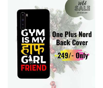 FREE Shipping – Buy ONEPLUS Nord Covers – Sowing Happiness is a Other Announcements listing in New Delhi DL