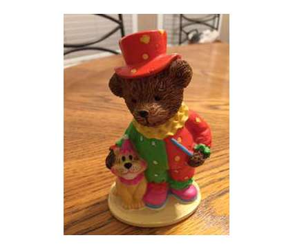 Clown Bear with his dog is a New Collectibles for Sale in Wescosville PA