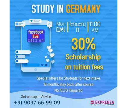 Study in Germany is a Other Announcements listing in Ernakulam KL