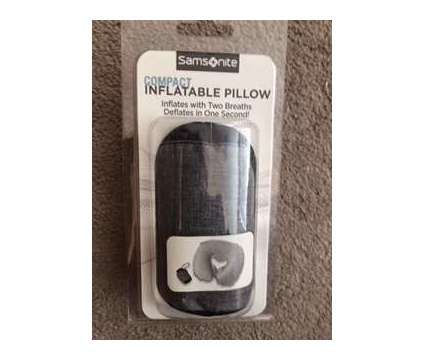 Samsonite Compact Inflatable Pillow is a New Everything Else for Sale in Wescosville PA