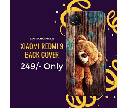 FREE Shipping – Buy REDMI 9 Covers – Sowing Happiness is a Auction Sales listing in New Delhi DL