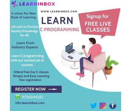 Best C language training in India Free Live Class at LIB is a Career Services service in Hyderabad AP