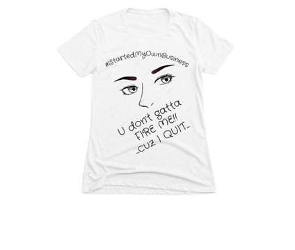 """Introducing the....""""I Quit"""" Custom Tee Shirt is a Shirts & Tops for Sale in Little Rock AR"""