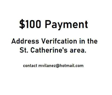 Assistance needed from resident in St. Catherine's area is a Wanteds listing in St Catharines ON