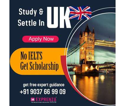Study and settle in UK is a Other Announcements listing in Ernakulam KL