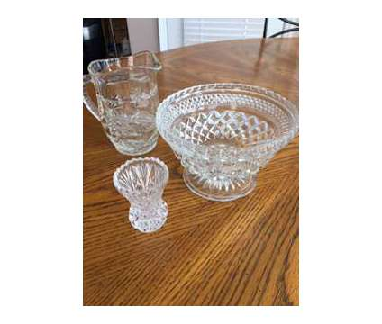 Crystal Items is a Collectibles for Sale in Wescosville PA