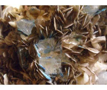 6060 cts. Lustrous Blue Aquamarine on Mica Museum Specimen is a Blue Collectibles for Sale in New York NY