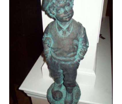 Boy Statue with Soccer Ball is a Everything Else for Sale in Wescosville PA