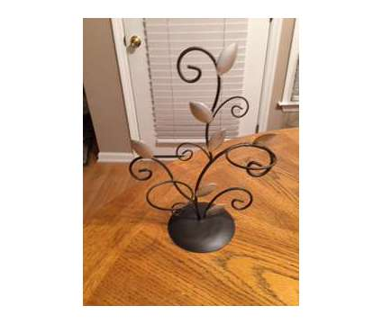 Metal/Silver Leaf/Candle Decor is a Everything Else for Sale in Wescosville PA
