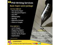 PhD thesis writing | Basic super saver package -LearnInbox