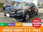 2017 Mercedes-Benz C-Class C300 4MATIC Coupe AMG 18s - Leather - LOW K