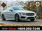 2017 Mercedes-Benz C-Class C 300 Coupe 4MATIC + AMG PKG Only 20K KMS!