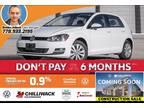 2016 Volkswagen Golf Comfortline*No Accidents*App Connect, Leather