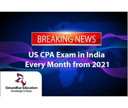 US CPA Exam Available in India | US CPA Exam 2021 | CPA India | Simandhar Educat is a Career Services service in Hyderabad AP