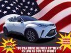 2020 Toyota C-HR White, 2968 miles