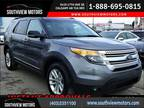 2014 Ford Explorer 4WD NAVIGATION LEATHER PANO-ROOF BACKUP CAMERA