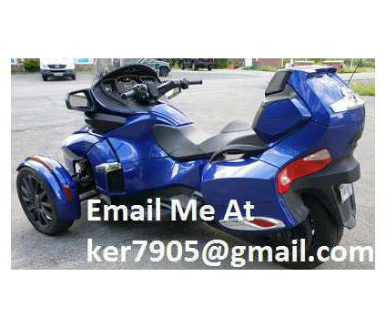 2014 Can Am Spyder RT SE5 is a 2014 Can-Am Spyder Motorcycles Trike in Jackson Heights NY