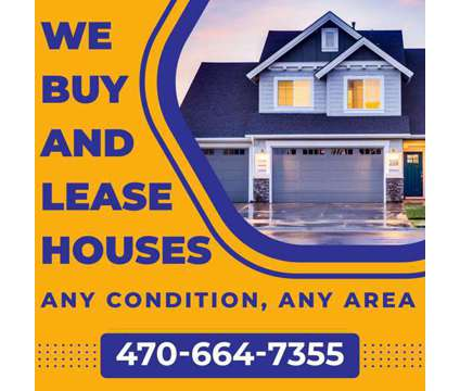 We Buy And Lease Houses in Atlanta GA is a Single-Family Home