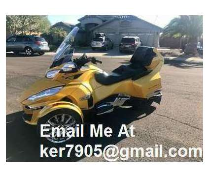 2016 Can Am Spyder Limited RT is a 2016 Can-Am Spyder Motorcycles Trike in Augusta WV