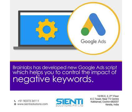 Google Ads is a Other Announcements listing in Ernakulam KL