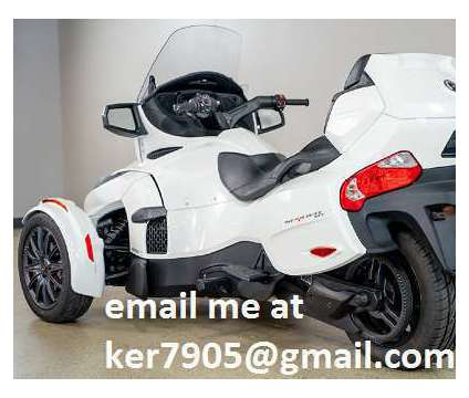 2019 Can-Am Spyder RT is a 2019 Can-Am Spyder Motorcycles Trike in Charlotte NC