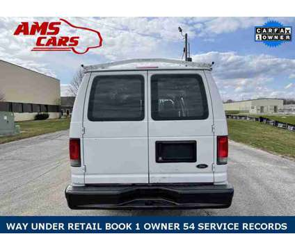 2013 Ford E-350SD Commercial is a White 2013 Ford E350 Van in Indianapolis IN