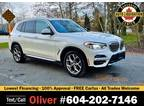 2020 BMW X3 xDrive30i Sports Activity Vehicle 36K KMs Only, Like New