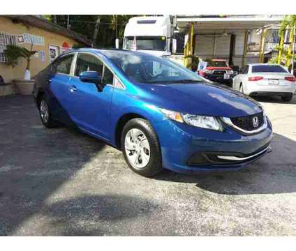 2014 Honda Civic for sale is a Blue 2014 Honda Civic Car for Sale in Miami FL