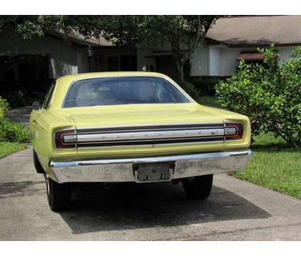 68 road runner is a 1968 Plymouth Road Runner Classic Car in Melbourne FL