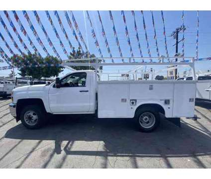 2015 Chevrolet Silverado 3500 HD Regular Cab & Chassis for sale is a White 2015 Chevrolet Silverado 3500 H/D Car for Sale in Bellflower CA